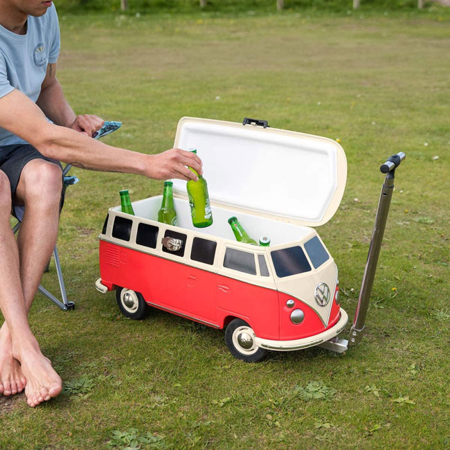 Volkswagen Camper Van cool box on wheels