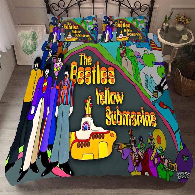 The Beatles Yellow Submarine retro duvet sets