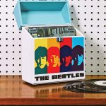 Crosley x The Beatles record carrier case
