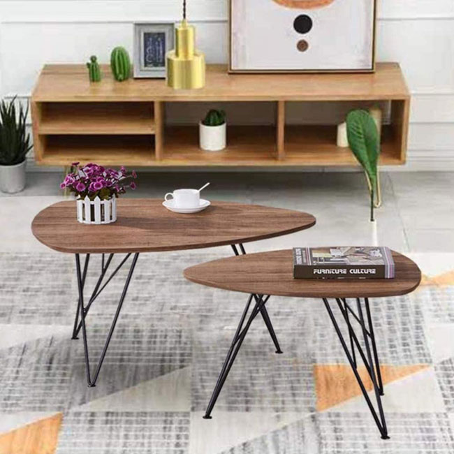 Goldfan budget midcentury modern coffee tables