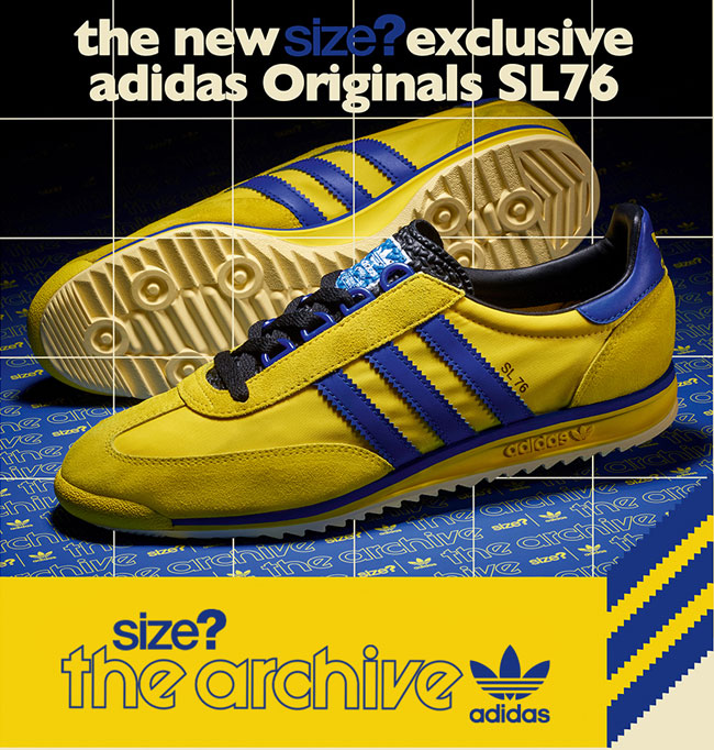 Archive Adidas SL76 trainers return in two colours