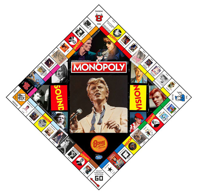 Monopoly David Bowie edition hits the shelves