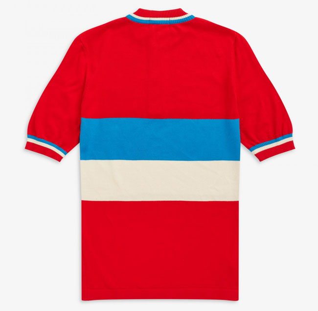 Original 1960s cycling tops reissued by Fred Perry
