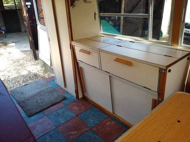 Original 1961 Commer Bluebird Moto Plus camper van