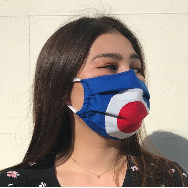 19. Mod target face mask by Jojo Retro