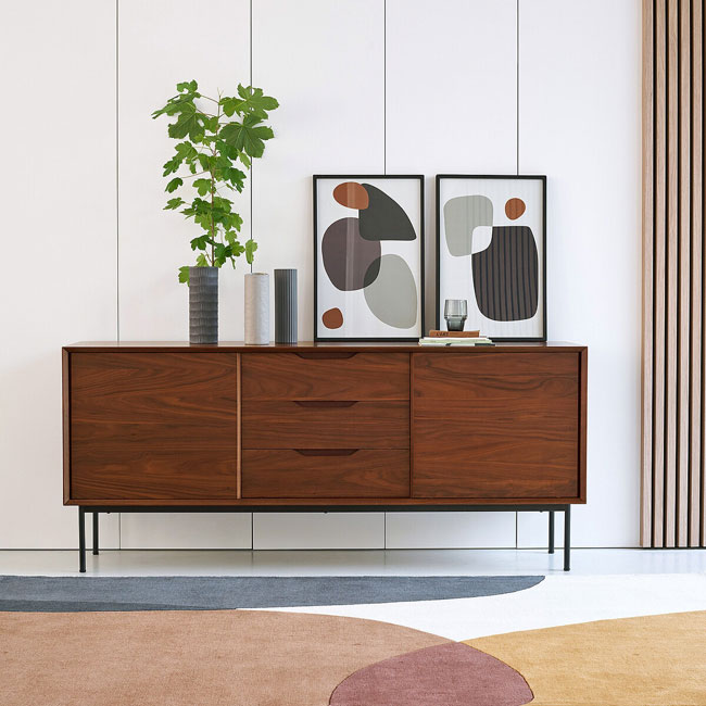 Noyeto retro sideboard and console table at La Redoute