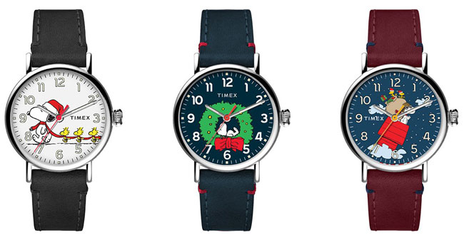 Timex 70th anniversary Peanuts watches unveiled