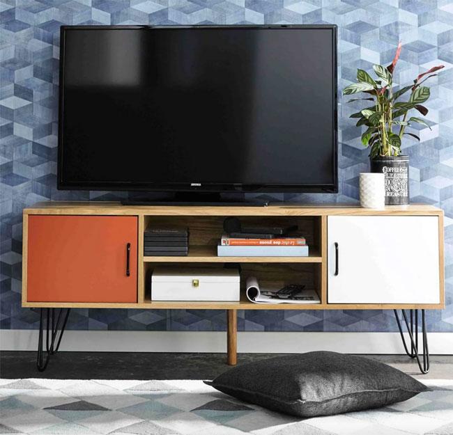 16. Twist vintage TV stand at Maisons Du Monde