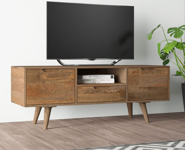 22. Nowell TV Stand by Hykkon at Wayfair