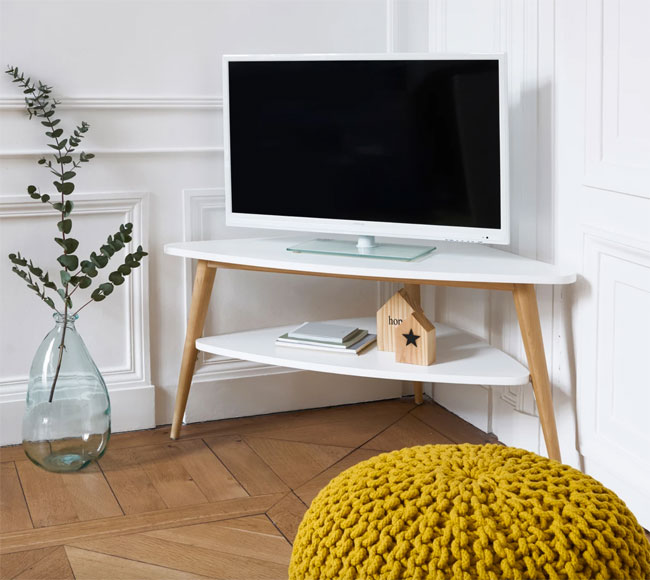 29. Jimi Vintage corner TV unit at La Redoute
