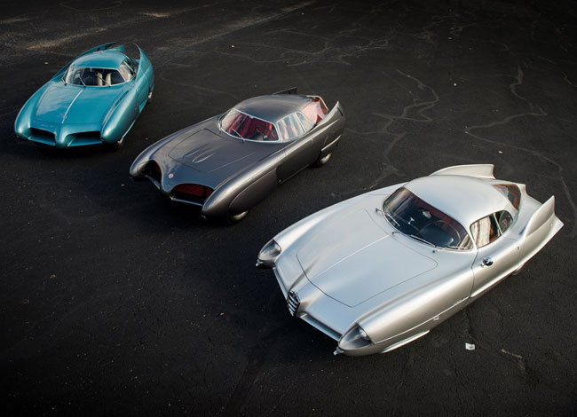 1950s Alfa Romeo space-age BAT concept cars up for auction