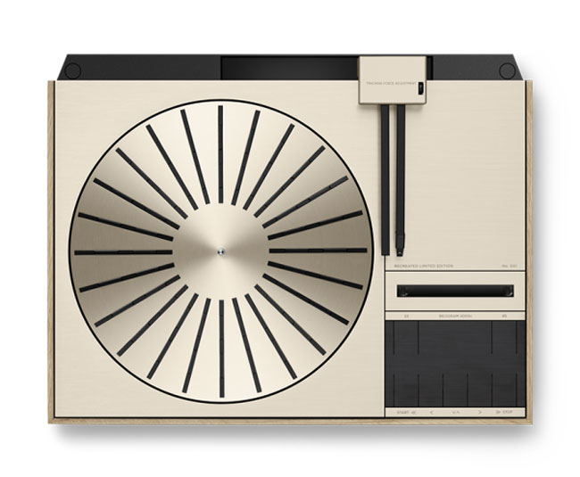 1970s Bang & Olufsen Beogram 4000c turntable reissued