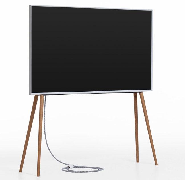 Handmade midcentury modern TV legs by JALG