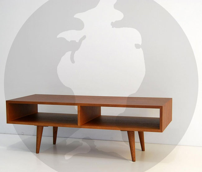 7. Handmade midcentury modern TV stand by Moutinho Store