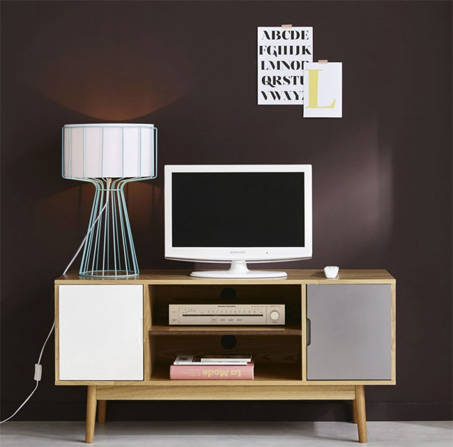 8. Fjord retro two-door TV unit at Maisons Du Monde