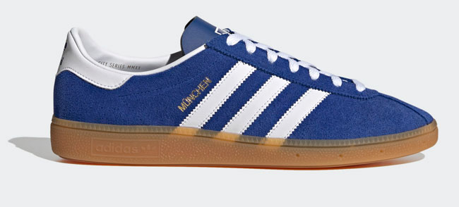 Adidas Munchen City Series trainers get a rare reissue
