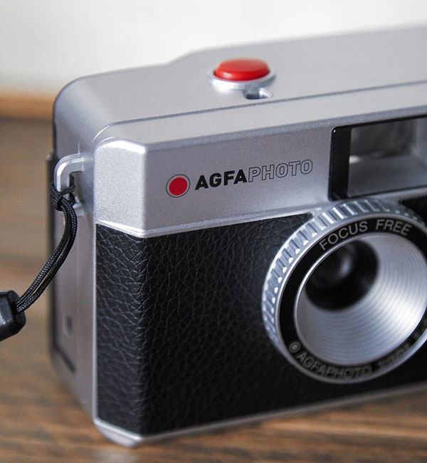 Vintage photography: AGFA 1970s-style 35mm camera