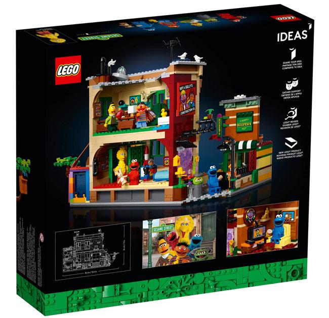 123 Sesame Street Lego Set hits the shelves