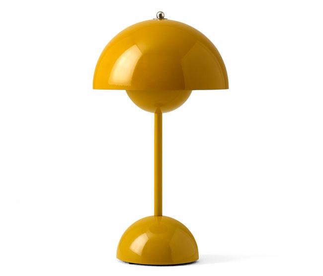 1960s Verner Panton portable Flowerpot Lamp
