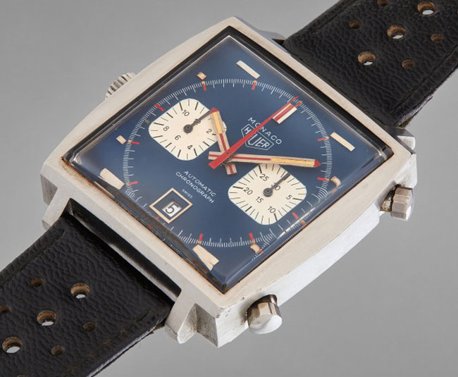 Steve McQueen's Heuer Monaco watch goes up for auction