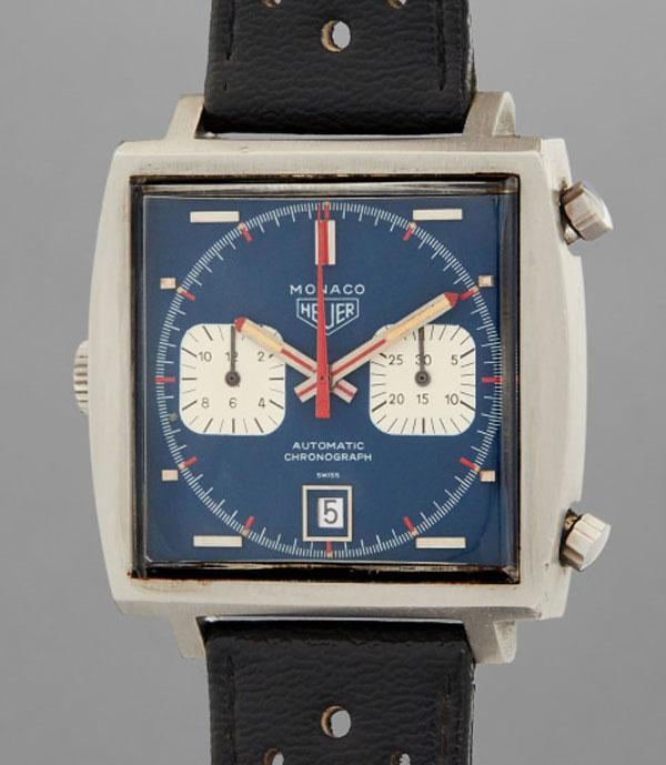 Steve McQueen's Heuer Monaco watch goes up for auction