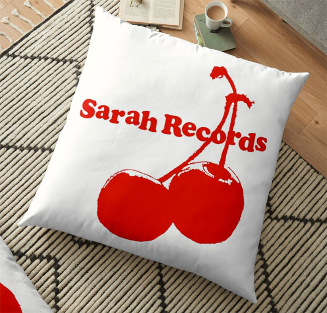 Indie, alternative and classic rock cushions by Rat Rock