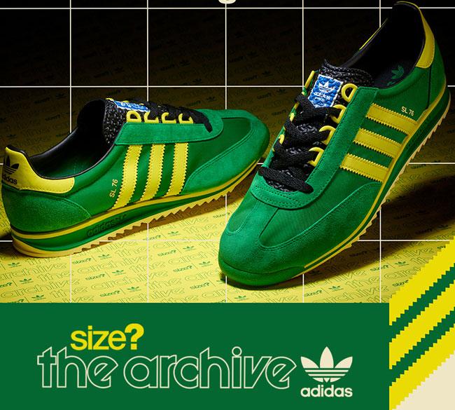 1. Adidas SL76 trainers return as a limited edition