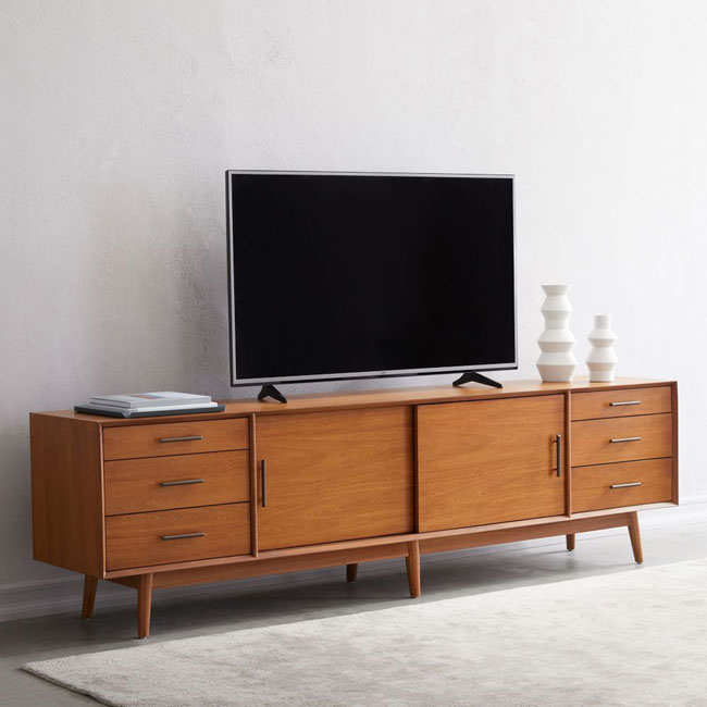 11. 10 of the best retro television units and stands