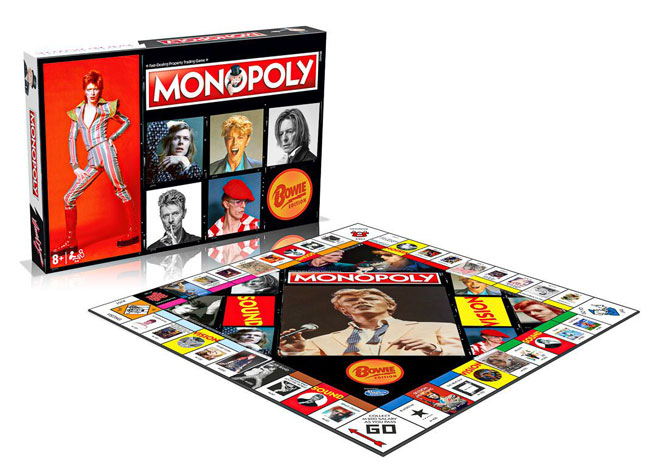 16. Monopoly David Bowie edition hits the shelves