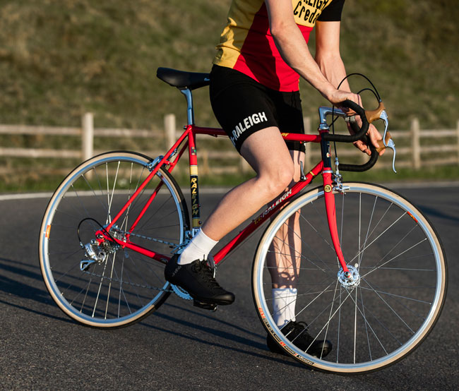 19. TI-Raleigh 40 – 40th anniversary Tour de France bicycle