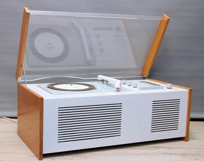 2. 1960s Dieter Rams Braun SK61 record player and radio on eBay