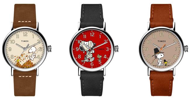22. Timex 70th anniversary Peanuts watches