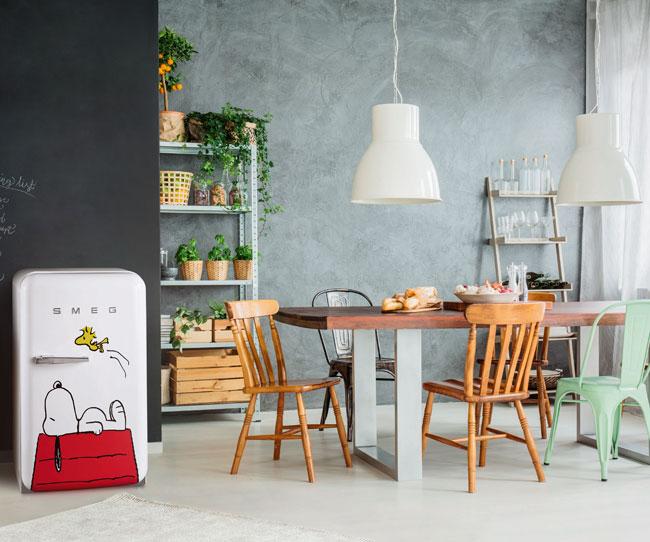 27. Limited edition Snoopy fridge by Smeg