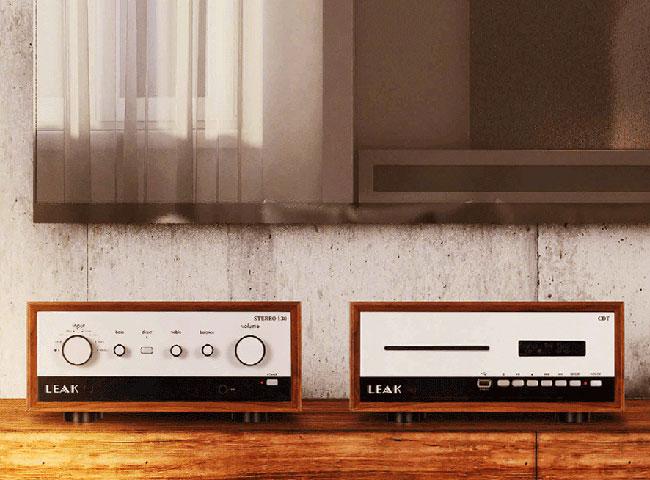 33. 1960s-style Leak CD audio system revealed