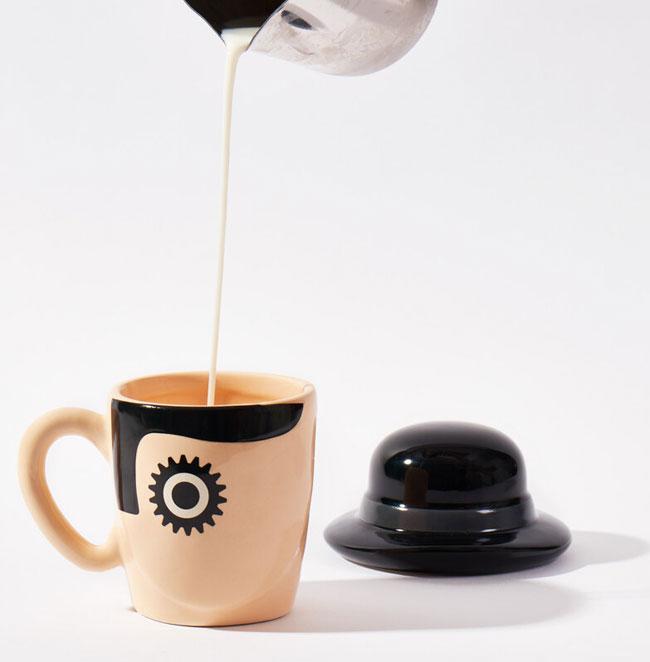 34. A Clockwork Orange mug