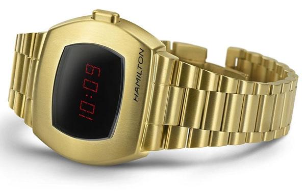 43. Hamilton PSR – the first-ever digital watch returns