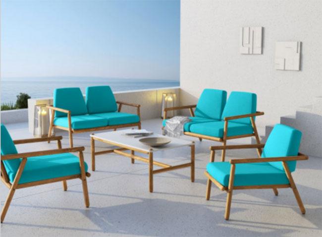 44. Midcentury modern garden furniture by Calme Jardin