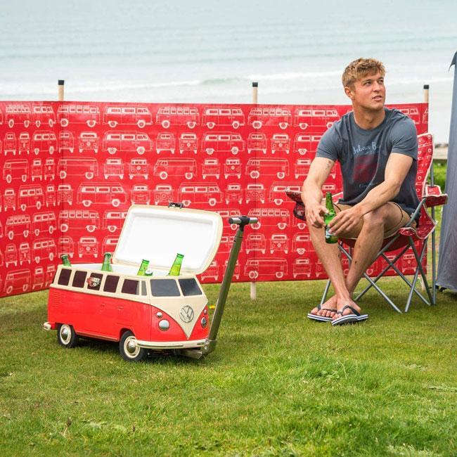 46. Volkswagen Camper Van cool box on wheels