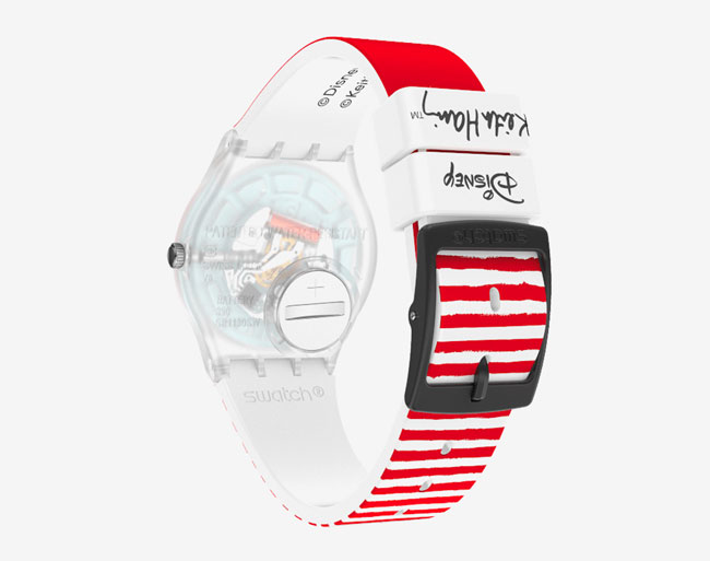Keith Haring's 1980s Disney Swatch watches reissued