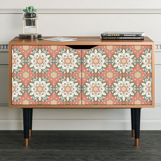 12. Lucretia Grove patterned sideboard at Wayfair