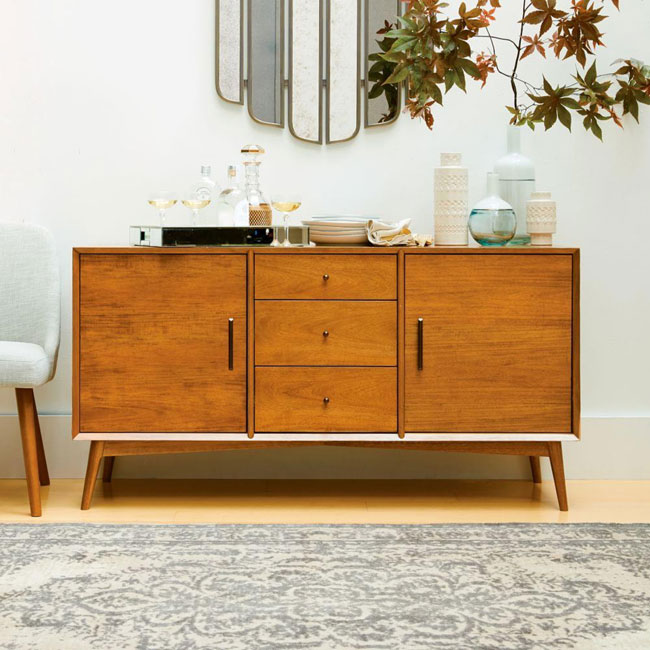 13. Mid-Century sideboard at West Elm