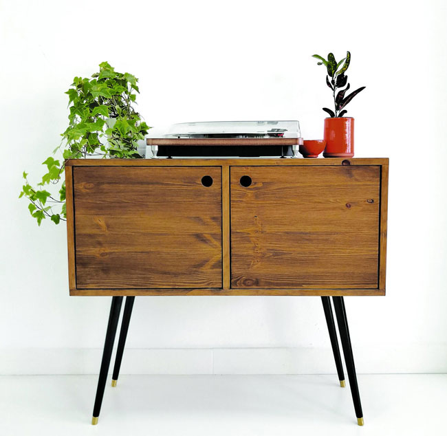 22. Walnut sideboard by Vintage House Coruna