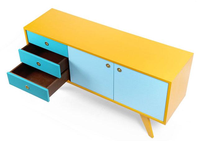 23. Kanttari handmade colour sideboard