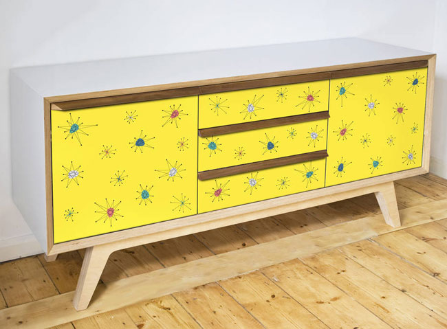 28. Atomic handmade sideboards by Scout and Boo