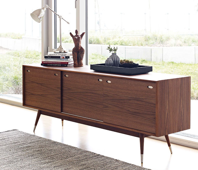 32. Danish Retro sideboard range by Wharfside