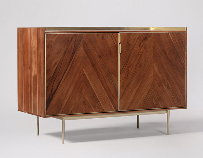 33. Merion retro sideboard at Swoon