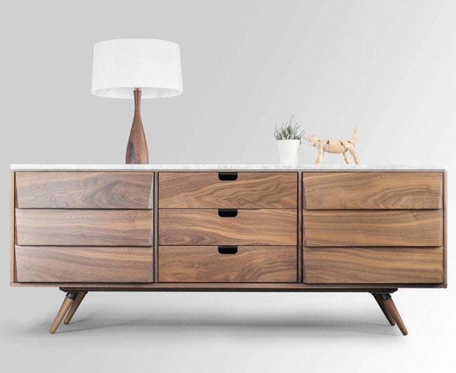 36. Habitables midcentury modern sideboard