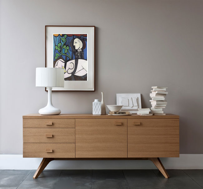 40. Cross sideboard by Matthew Hilton for Case Furniture