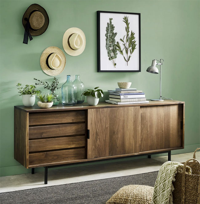 45. Berkeley 4-drawer sideboard at Maisons Du Monde