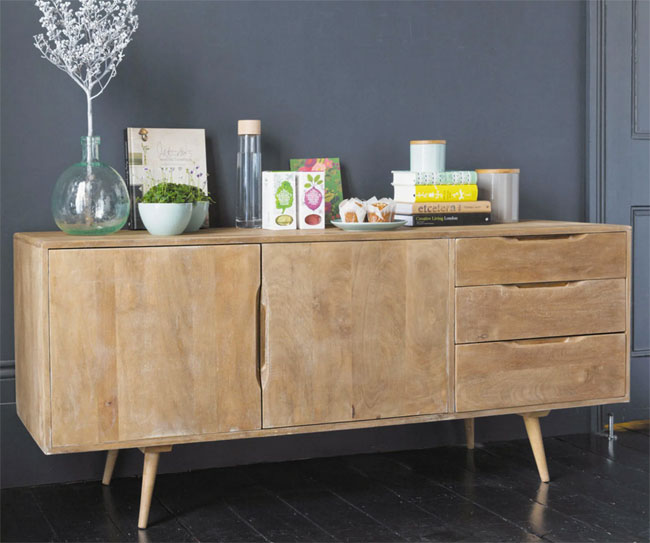 5. Trocadero mango wood sideboard at Maisons Du Monde